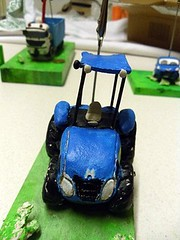 New Holland Tractor in fimo