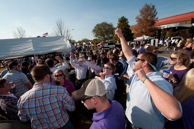 Homecoming 2012 - tailgating