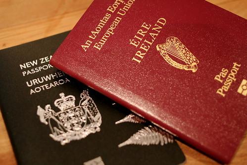 My Irish passport