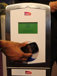 Validation transport SNCF par mobile NFC