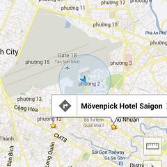 เครื่องลงสนามบินโฮจิมิน เดินลงจากเครื่องไม่ถึง 100 ก้าว ก็ขึ้น TaxI มาแล้ว สนามบินอยู่กลางเมืองเลย โรงแรมก็อยู่ไม่ไกล #PomVN