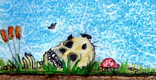 bugs in my skull by Giant Hamburger