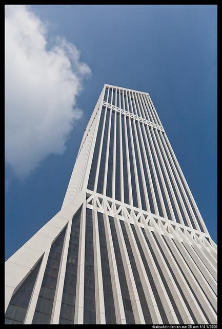 Menara Maybank in Blue