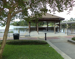 Gazebo on Milton's Riverwalk, Tommie Lyn
