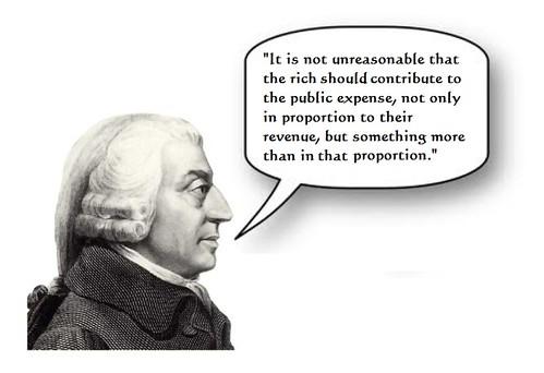 Adam Smith Endorses Obama Tax Plan