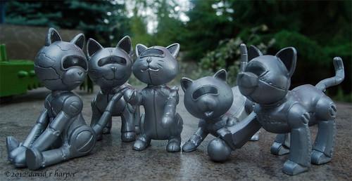 07.15.2012 :: 366/197...::... Robo Cats by Echo9er