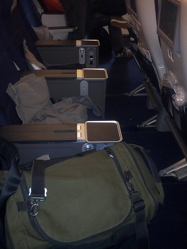 World Traveller Plus Row