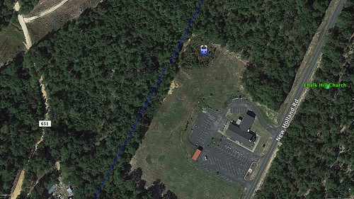 Seivern from Google Earth
