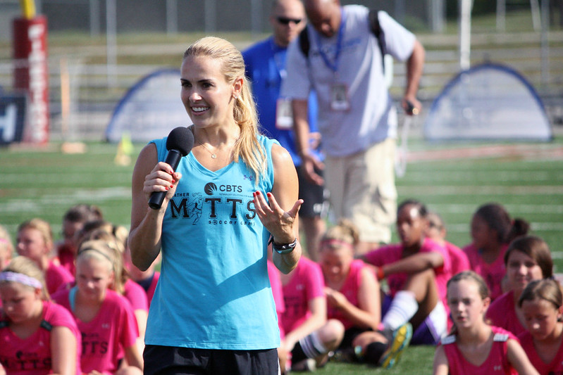 Heather Mitts Soccer Camp