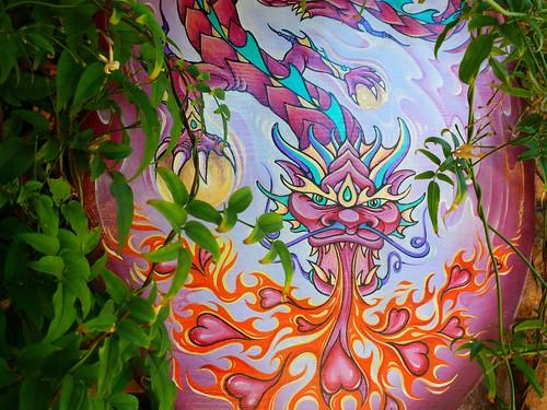 The Dragon's Fiery Heart by dyannaanfang