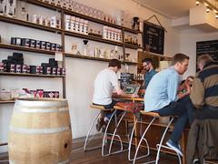 Prufrock Coffee, Leather Lane