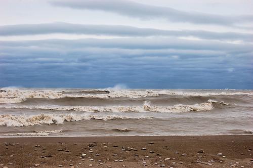 Lake Michigan after Sandy 1