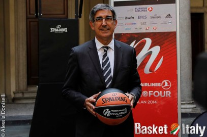 presentazione final four, eurolega, jordi bertomeu