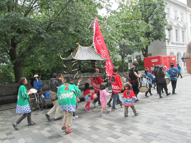 Omikoshi Parade, Brighton Japan Festival 2012