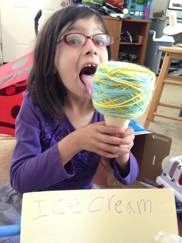 Ice cream yarn