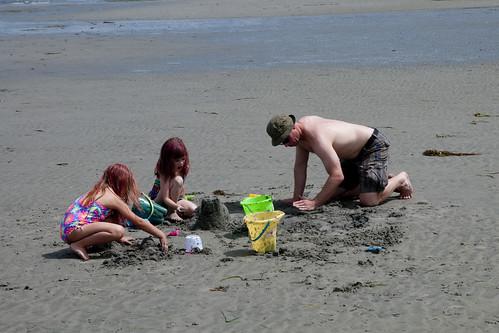 Beach Fun at Qualicum Beach Day