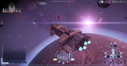 juego de volar en el espacio