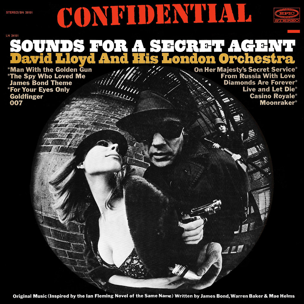 David Lloyd - Confidential: Sounds for a Secret Agent