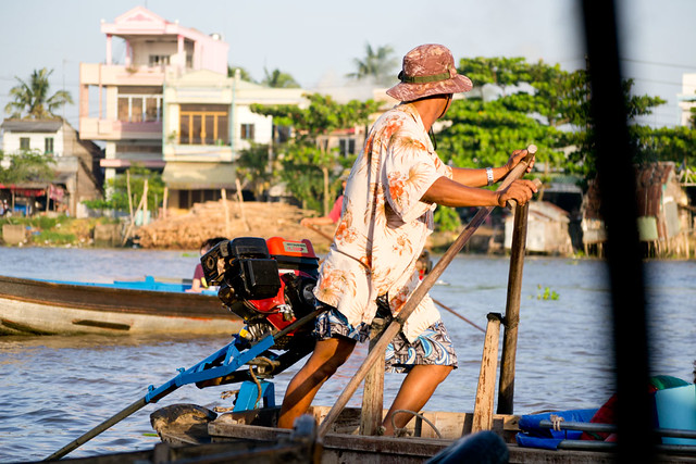 Mekong Paddling