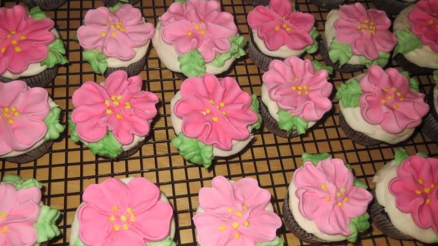 detail cupcakes