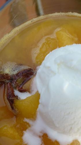 Peach & Cantaloupe Soup - Zuppa di Pesche & Melone