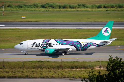AeroSur   Boeing 737-300 @ SBGR