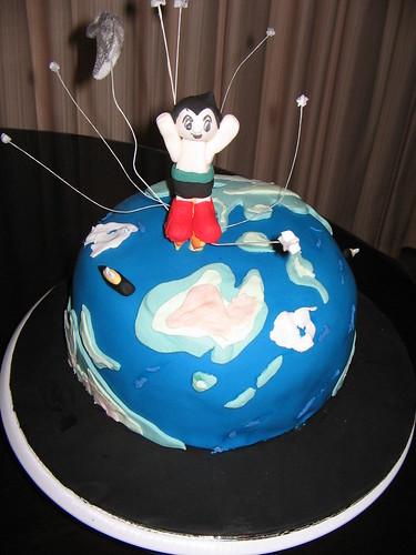 Astro Boy Cake by zoyainc_1969