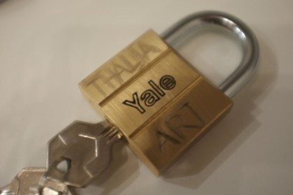 "our ""love padlock"""
