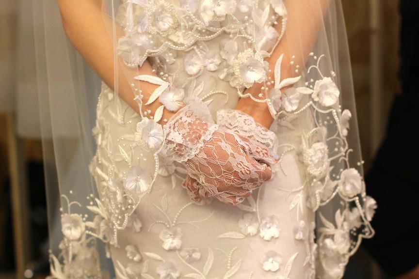Oscar de la Renta Bridal 2013 69