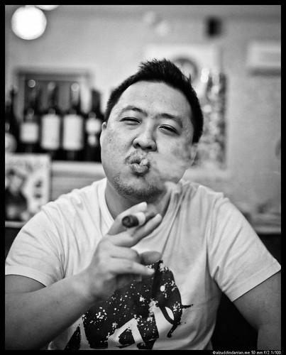 Dave Ching, owner Maduro