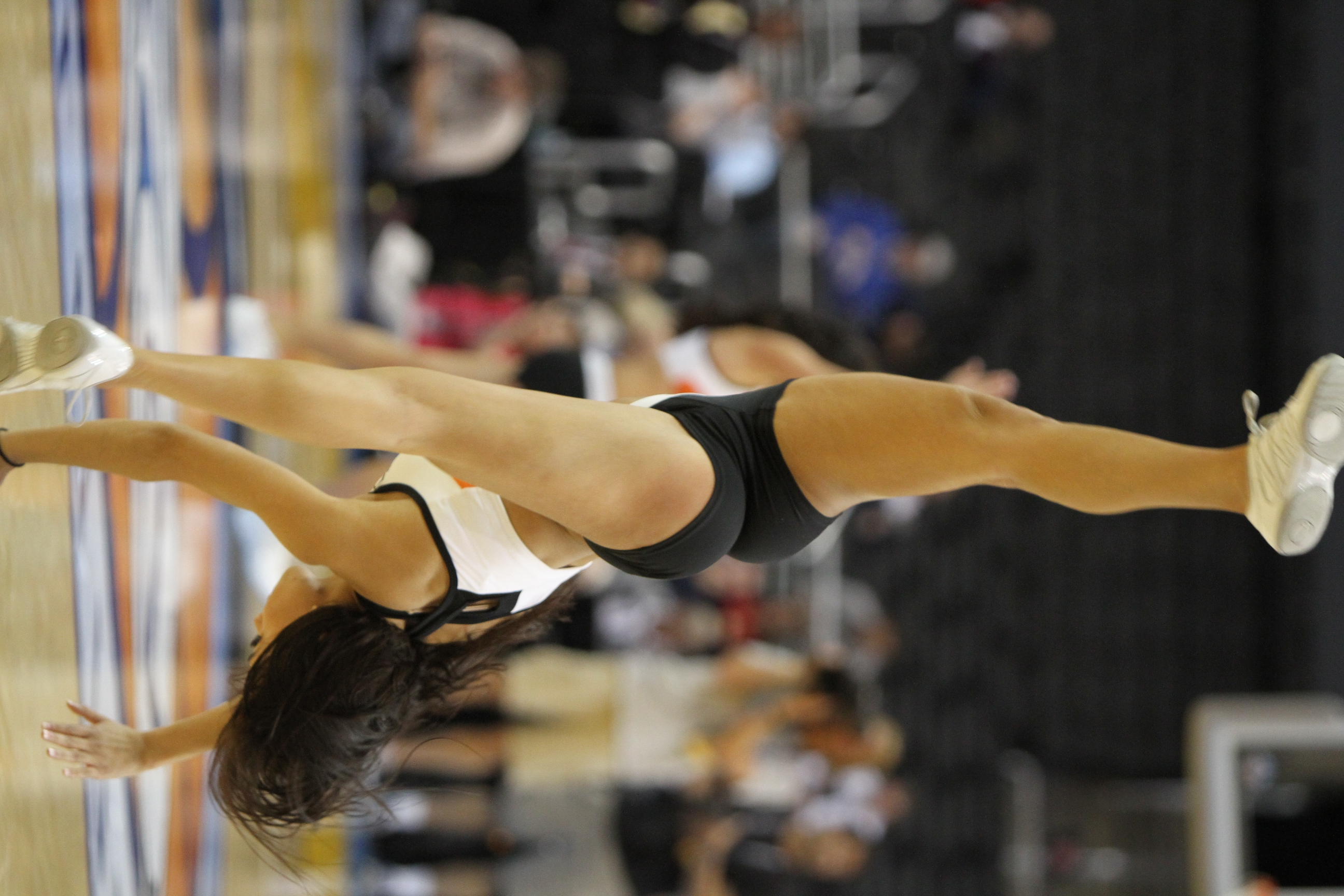 Cheerleader Cartwheel Cheerleaders At 2012 Pac 12