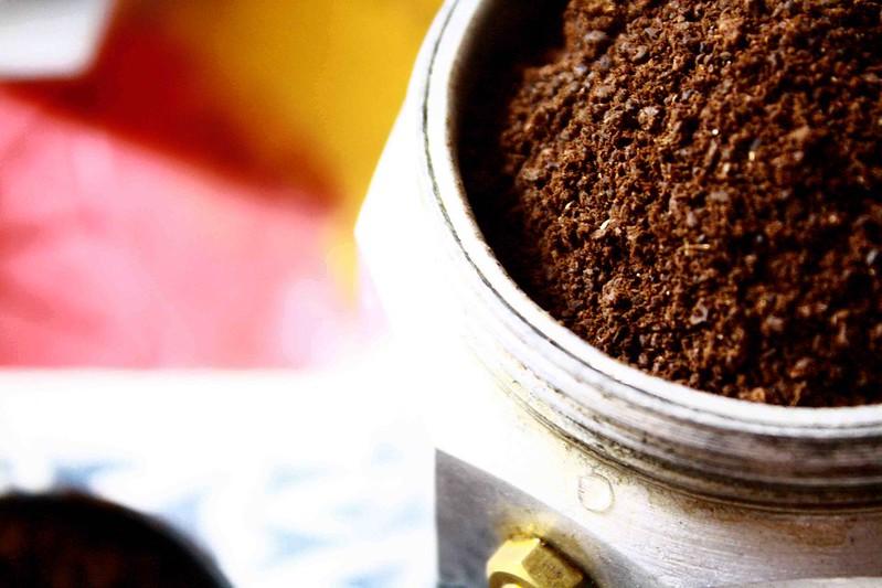 Ground coffee espresso maker