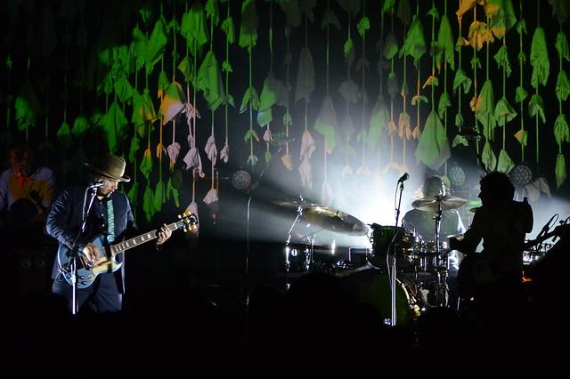 Wilco @ Wolf Trap July 17, 2012