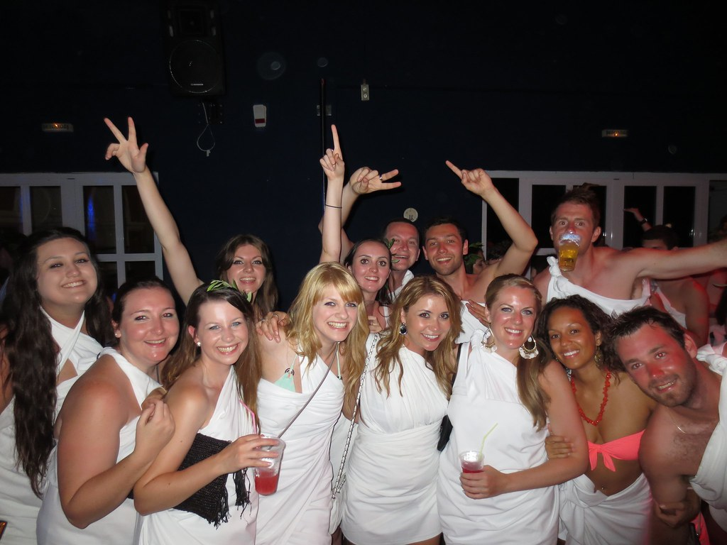 Toga Party - Corfu, Greece