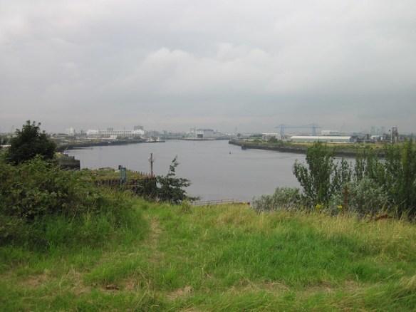 View from Cargo Fleet Wharf