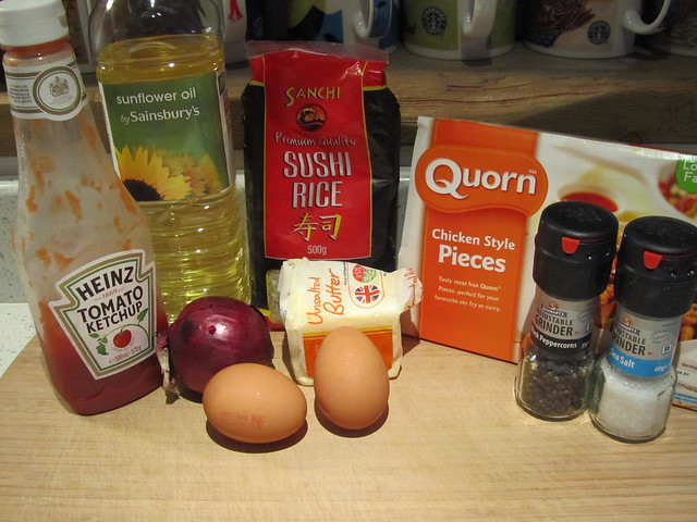 Cooking: Omurice (Rice Omelette)