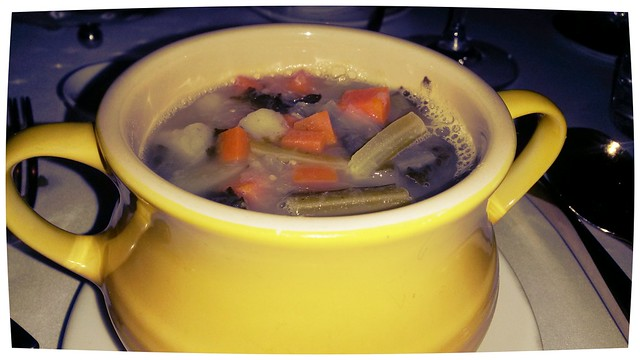 Minestrone at Gold