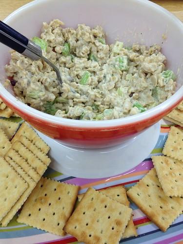 tofu/tempeh salad
