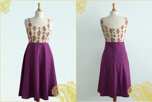 Dress Paint The Town Purple