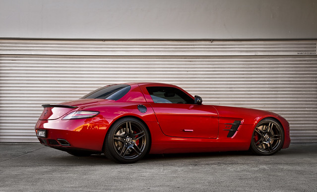 Mercedes-Benz SLS AMG Shoot
