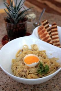 Tuyo Pasta, CASA Backstage Cafe