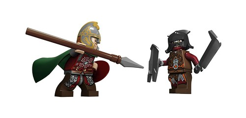 LEGO The Lord of the Rings 2012 9471 Uruk-Hai Army