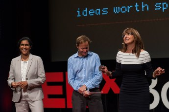 TEDxBoston 2012 - Meghna Chakrabarti, Anthony Brooks, Danielle Duplin