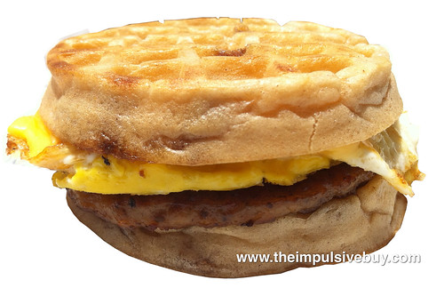 Jack in the Box Waffle Breakfast Sandwich
