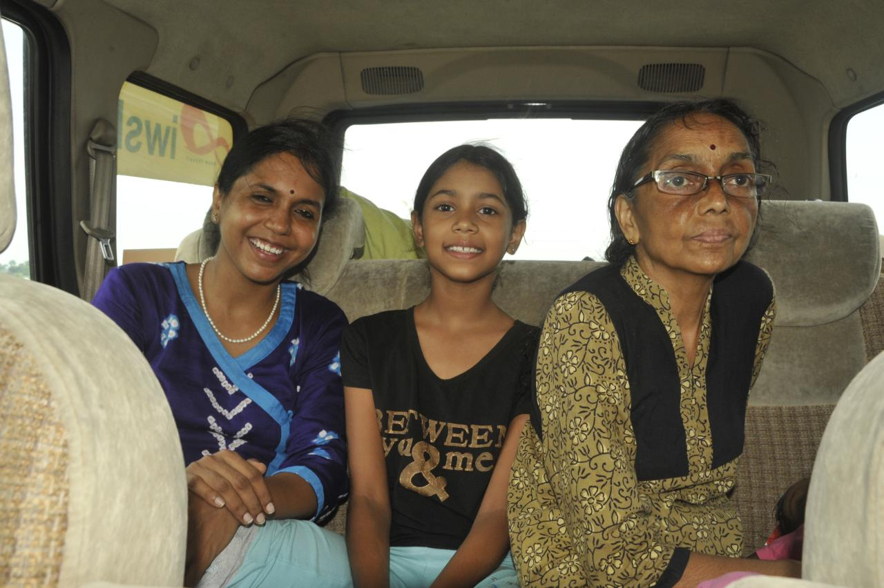 So did Mallika, Indira, ammammai and Svwara as long as the going was smooth