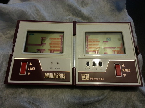 Game & Watch Mario Bros. - Ouvert