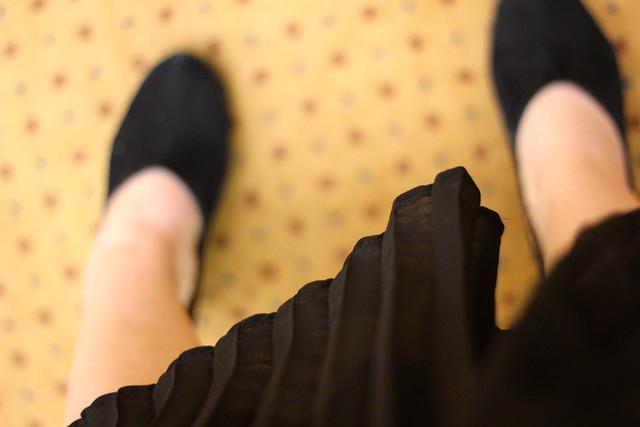 Monday: midi skirt