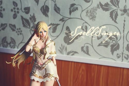 Action figure: Light Elf [Lineage II], spell singer