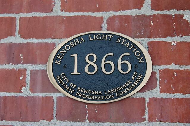 Kenosha Light Station, Simmons Island, Kenosha Wisconsin