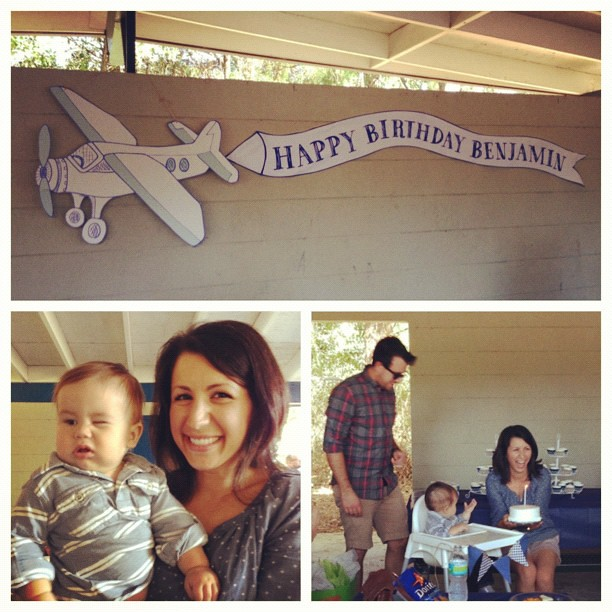 Happy 1st birthday Ben! @jessicaemeyer @andrewjohnmeyer